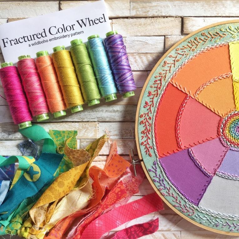 Fractured Color Wheel Wildboho
